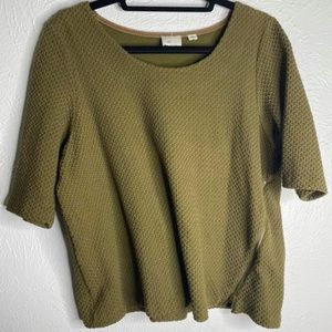 Anthropologie shirt size XL